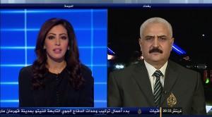 المستشار ضياء الوكيل على قناة  الجزيرة