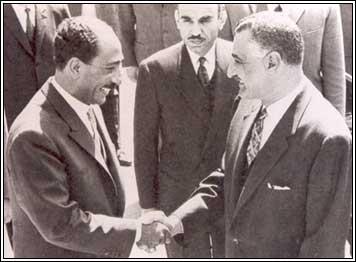 عبد الناصر والسادات