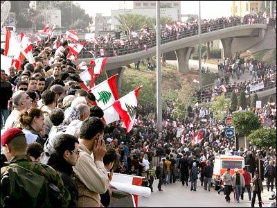 تظاهرات بيروت