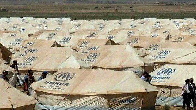 مخيمات اللجوء في الاردن