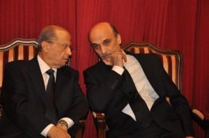 سمير جعجع وميشيل عون