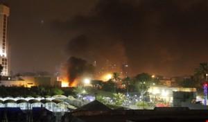 هجوم ارهابي على بغداد الجديدة