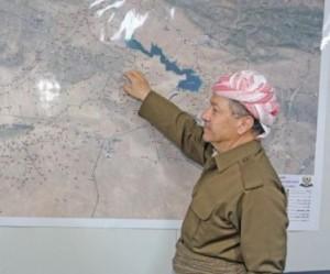 بارازاني والخرائط