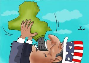أمريكا والعراق