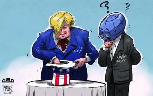 ترامب-وجراب-الحاوي..-كاريكاتير-ياسر-أحمد-جريدة-مكة-السعودية-بتاريخ-11-نوفمبر-2016