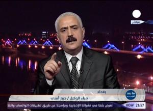 المستشار ضياء الوكيل يتحدث  لقناة بلادي 15 حزيران3